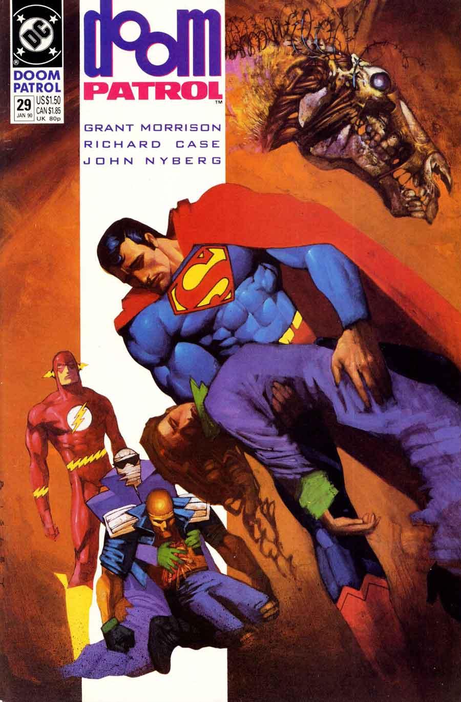 Doom Patrol #29 cover by Simon Bisley