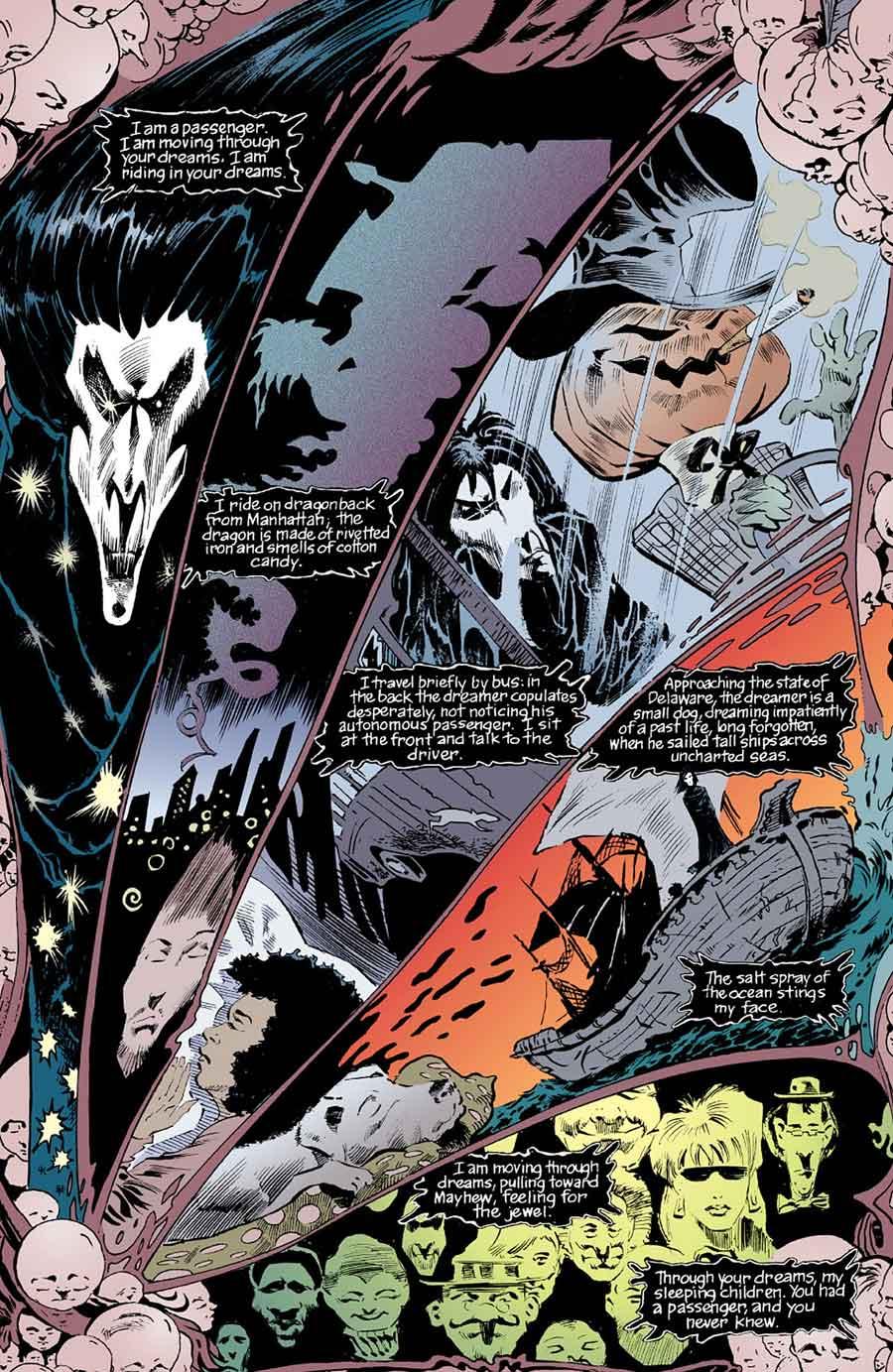 Sandman #5 by Neil Gaiman, Sam Keith, and Malcolm Jones III