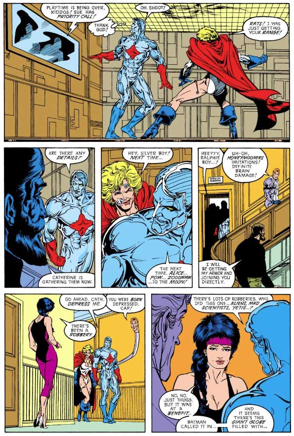 Justice League Europe #10 by Keith Giffen, William Messner-Loebs, Bart Sears and Pablo Marcos
