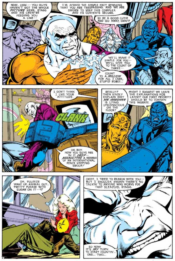 Justice League Europe #12 by Keith Giffen, William Messner-Loebs, and Bart Sears