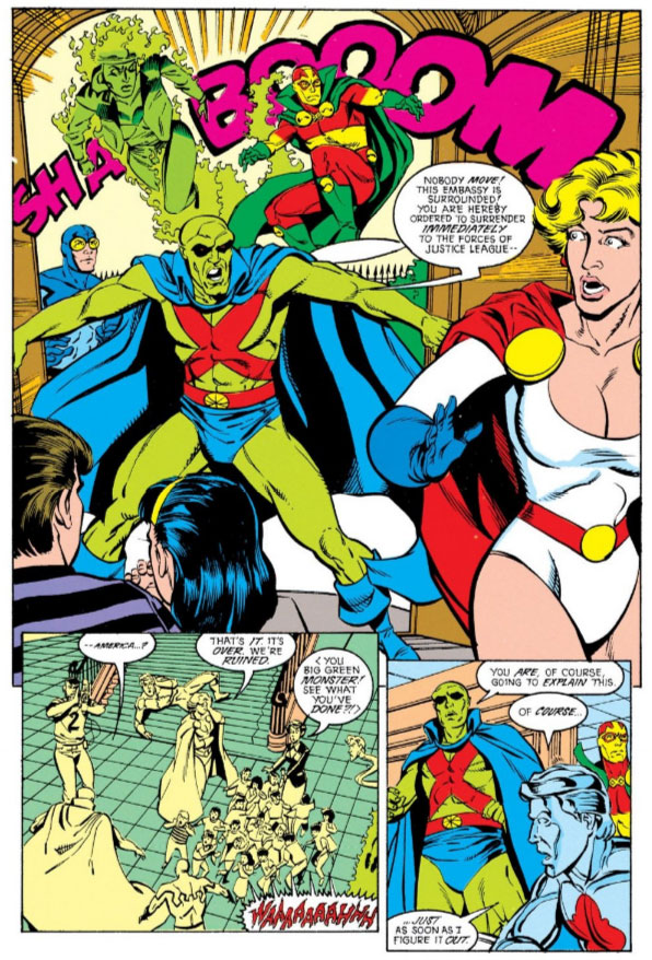 Justice League Europe #13 by Keith Giffen, J.M. DeMatteis, Chris Sprouse & K.S. Wilson
