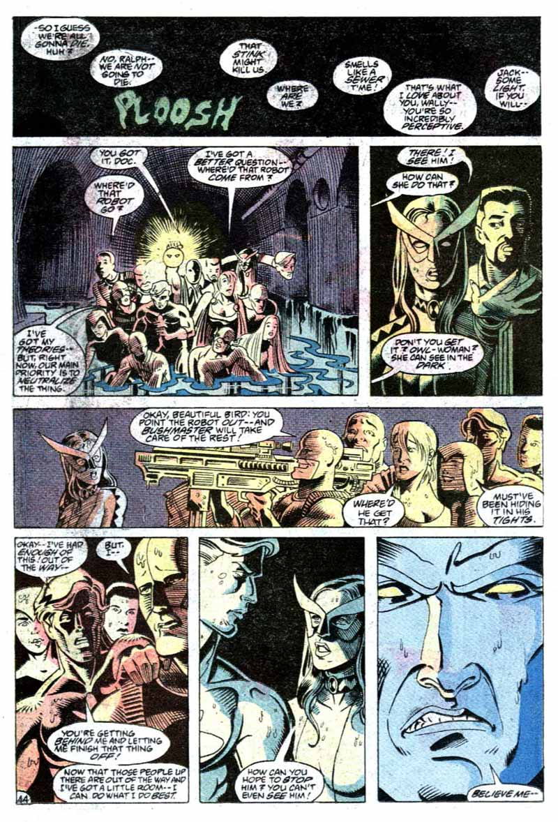 Justice League Europe Annual #1 by Keith Giffen, J.M. DeMatteis, Linda Medley & Jose F. Marzan, Jr.