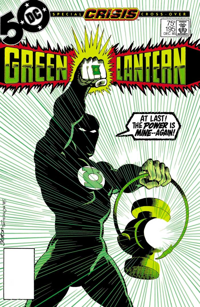 Green Lantern #195 by Joe Staton & Bruce Patterson