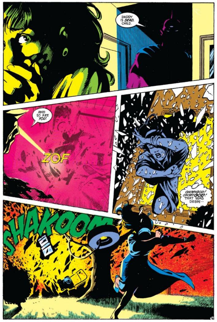Justice League America #38 by Keith Giffen, J.M. DeMatteis, Adam Hughes and Joe Rubinstein