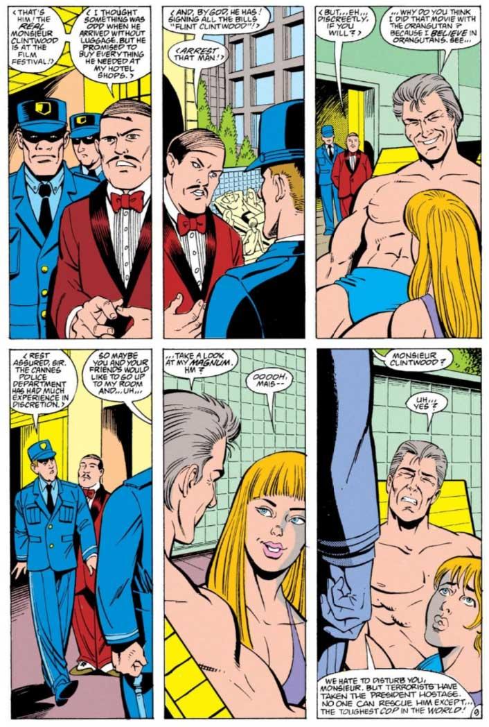 Justice League Europe #14 by Keith Giffen, Scripter, Linda Medley & Jose F. Marzan, Jr.