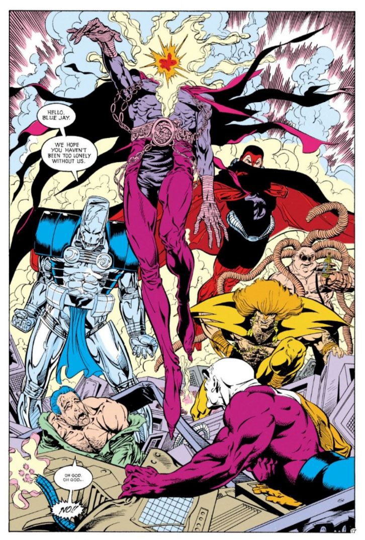 Justice League Europe #15 by Keith Giffen, Scripter, Bart Sears and Pablo Marcos