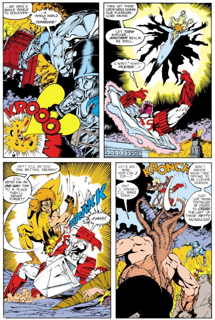 Justice League Europe #16 by Keith Giffen, Scripter, Bart Sears and Randy Elliott