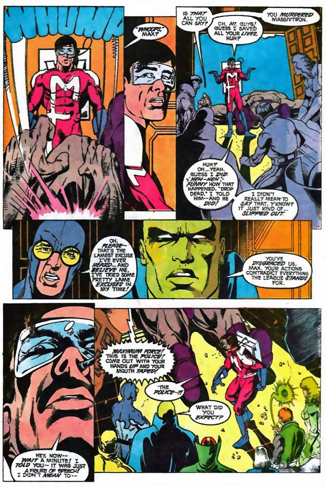 Justice League America #41 by Keith Giffen, J.M. DeMatteis, Mike McKone and Bruce Patterson
