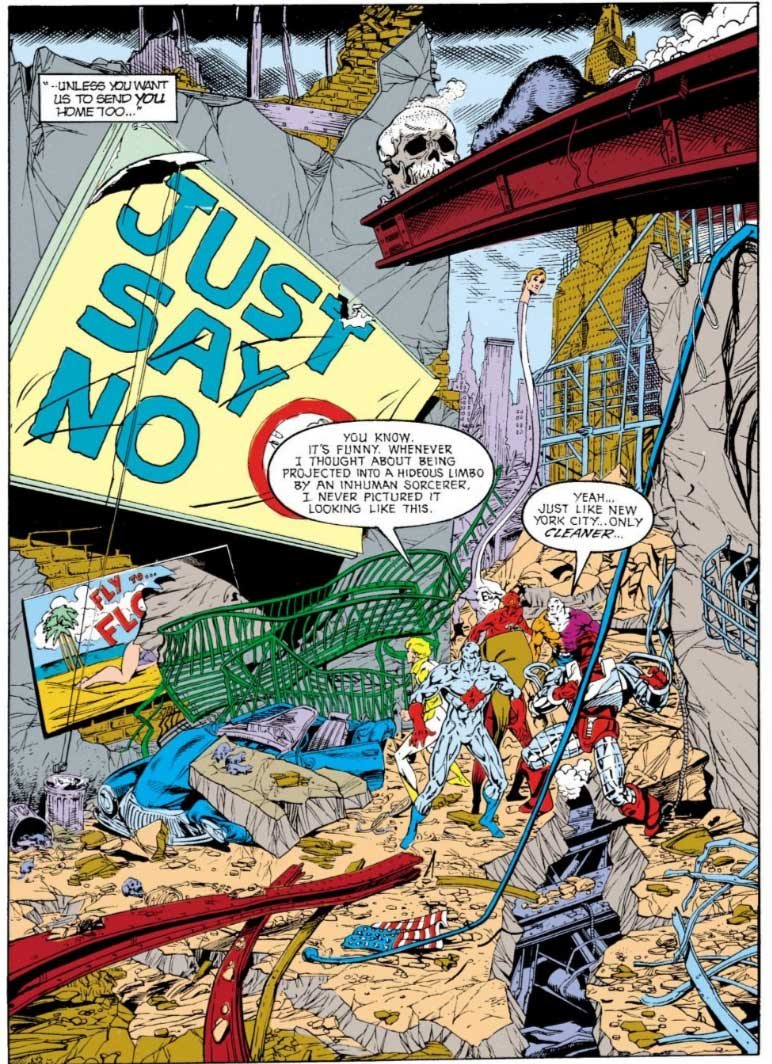 Justice League Europe #17 by Keith Giffen, Scripter, Bart Sears and Randy Elliott