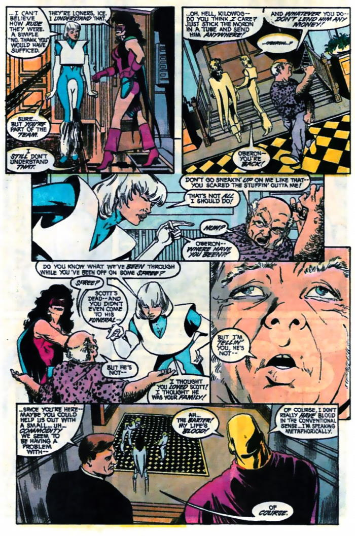 Justice League America #42 by Keith Giffen, J.M. DeMatteis, Mike McKone and Jose Marzan Jr