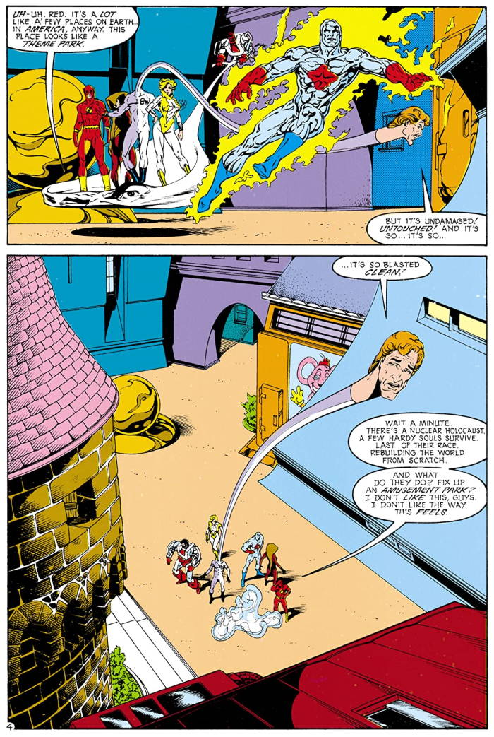 Justice League Europe #18 by Keith Giffen, Scripter, Bart Sears and Randy Elliott
