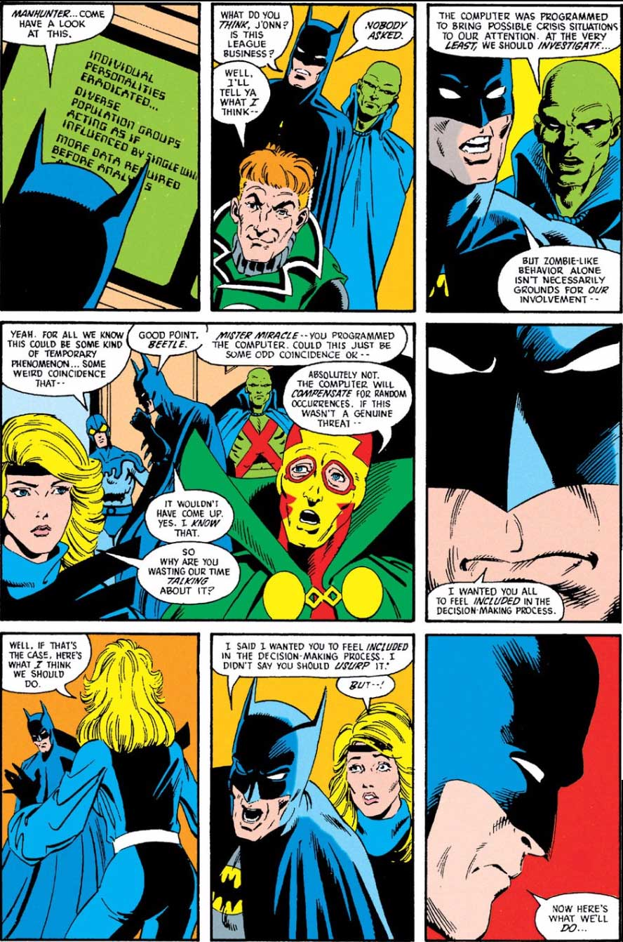 Justice League Annual #1 by Keith Giffen, JM DeMatteis, Bill Willingham and Dennis Janke