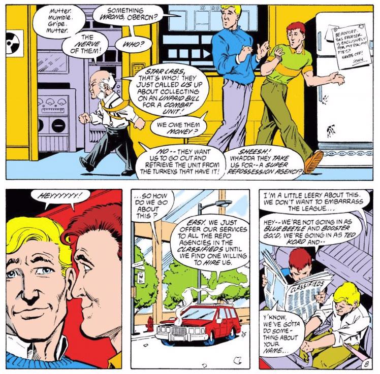Justice League International Annual #2 by Keith Giffen, JM DeMatteis, Bill Willingham, and Joe Rubinstein
