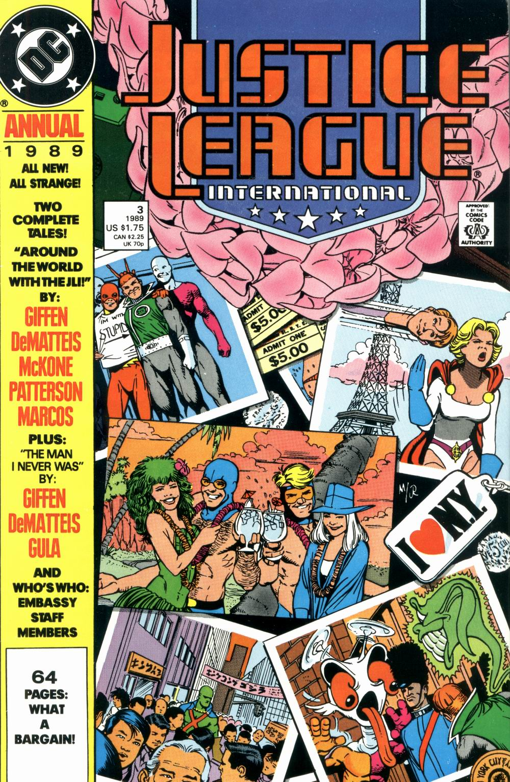 Justice League International Annual #3
