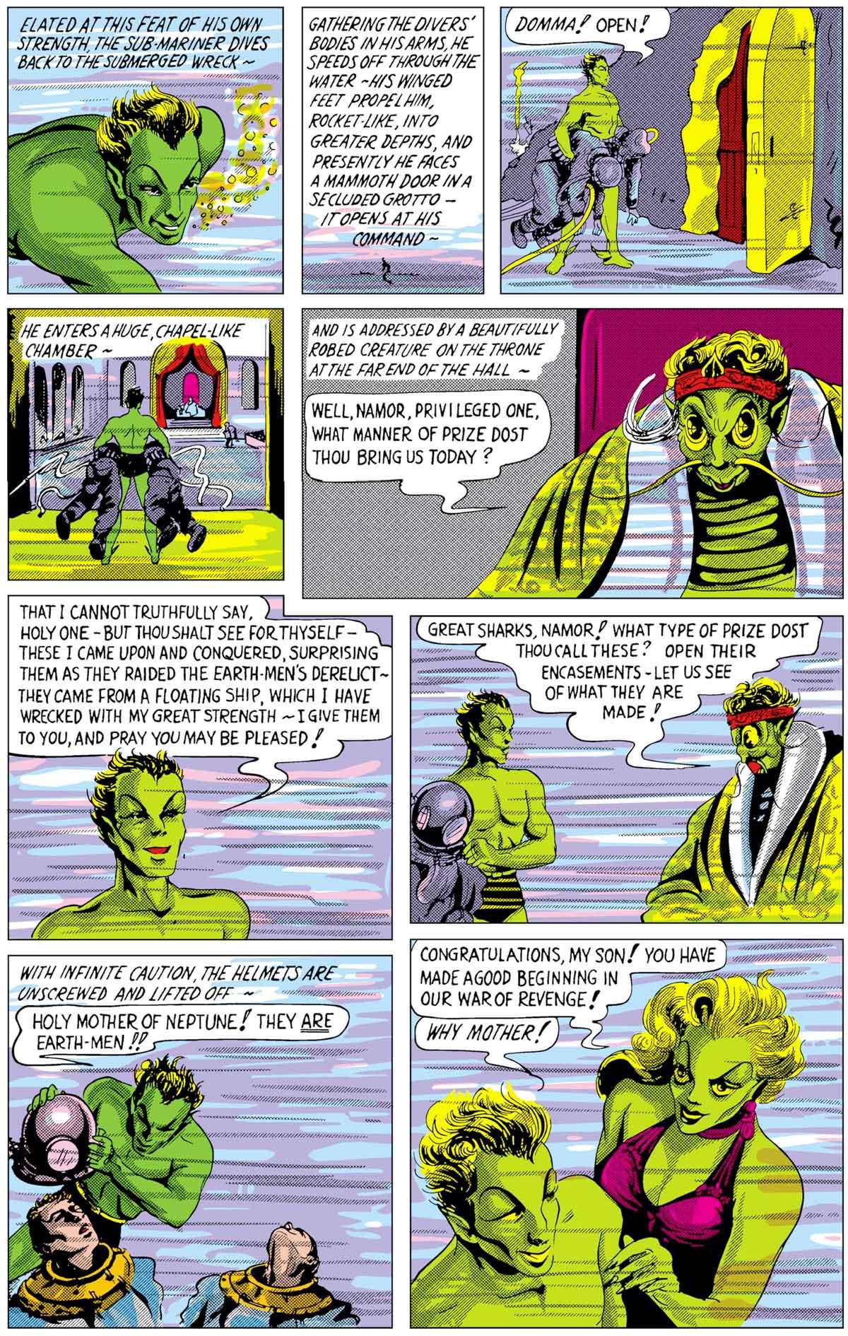 The Sub-Mariner from Marvel Comics #1 (Oct 1939) by Bill Everett