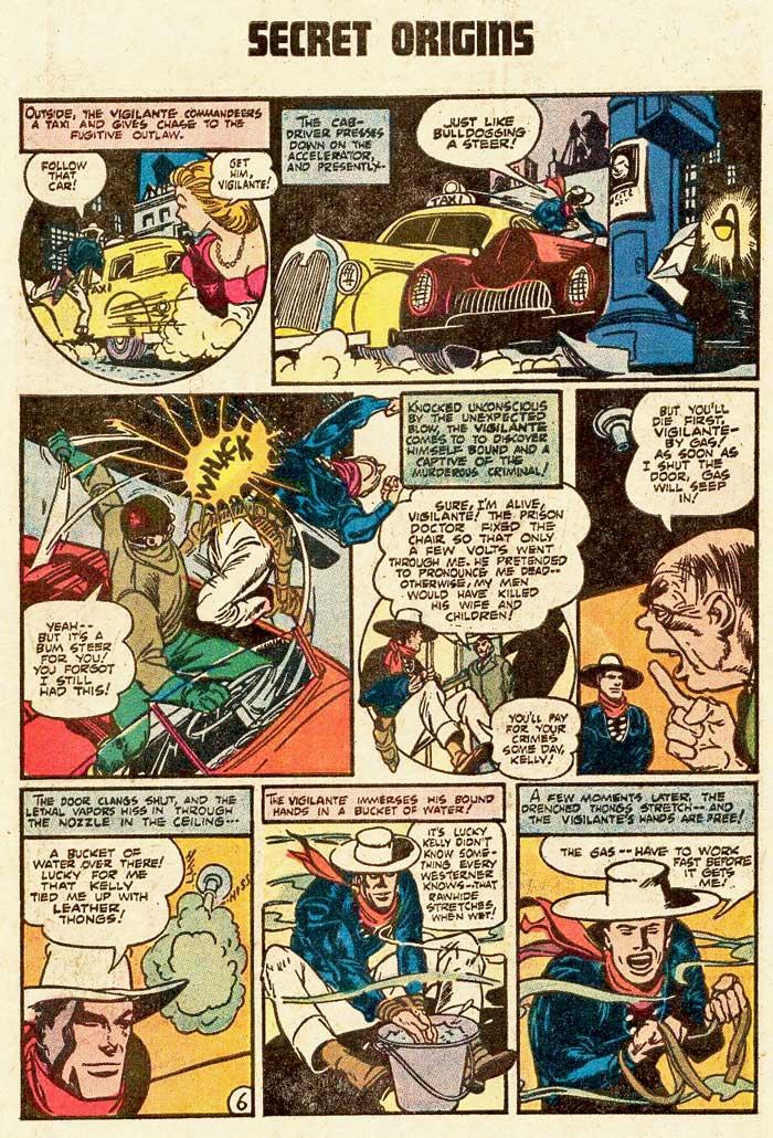 Secret Origins #4 (Sept/Oct 1983) featuring the Vigilante and Kid Eternity