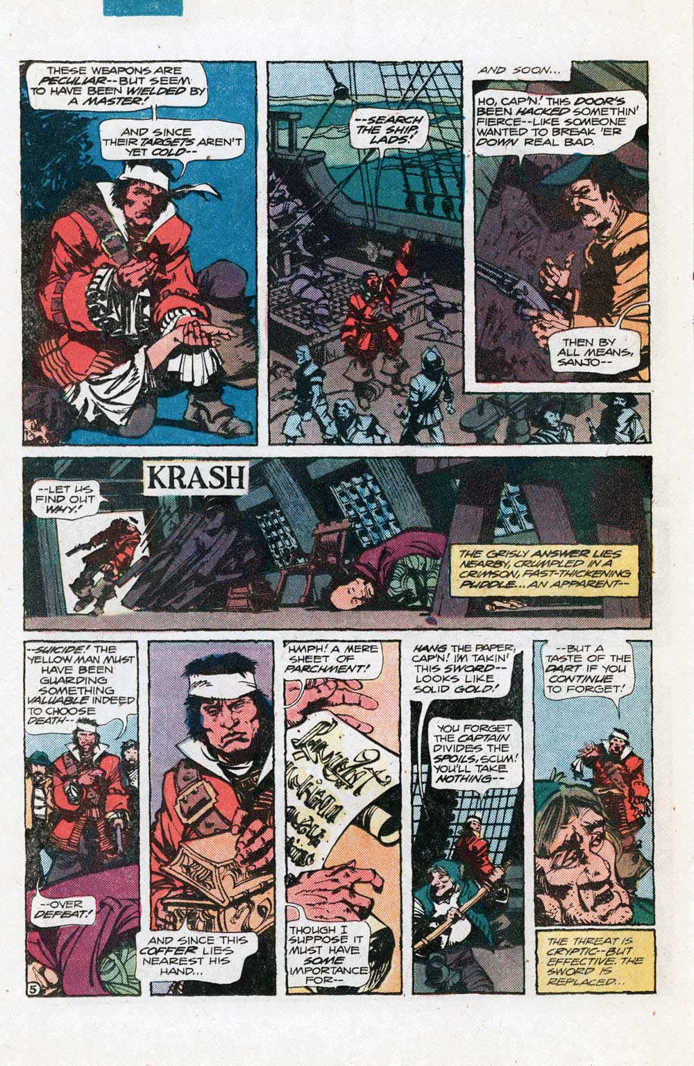 Unknown Soldier #254 (1981) by David Michelinie and Walt Simonson