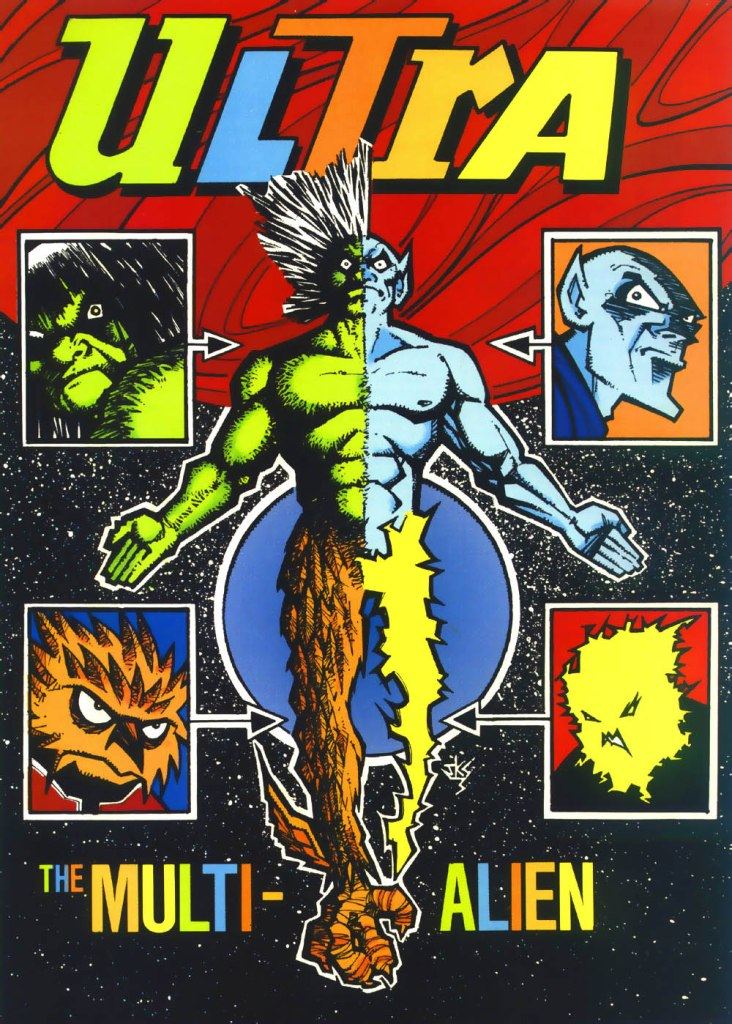 Who's Who in the DC Universe #4 (1990) - Ultra the Multi-Alien drawn by John K Snyder III
