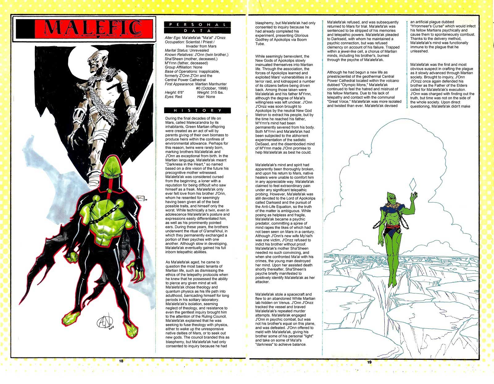 Who's Who in Martian Manhunter