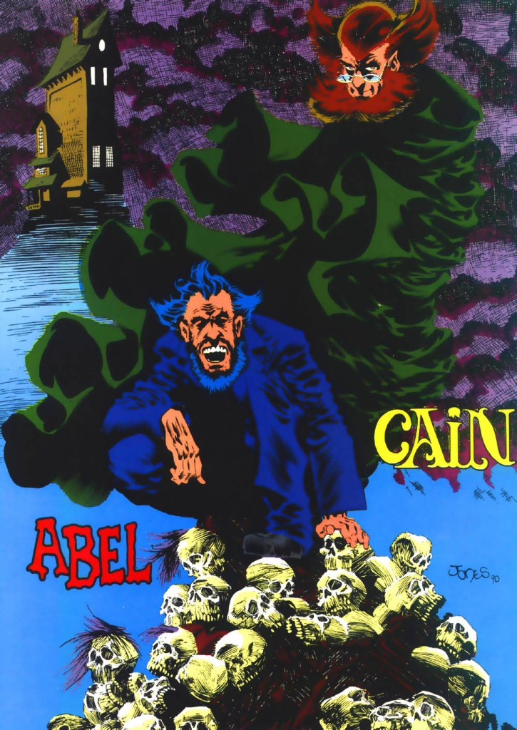 Who's Who in the DC Universe #1 - Cain and Abel - text by Peter Sanderson, with art by Kelley Jones