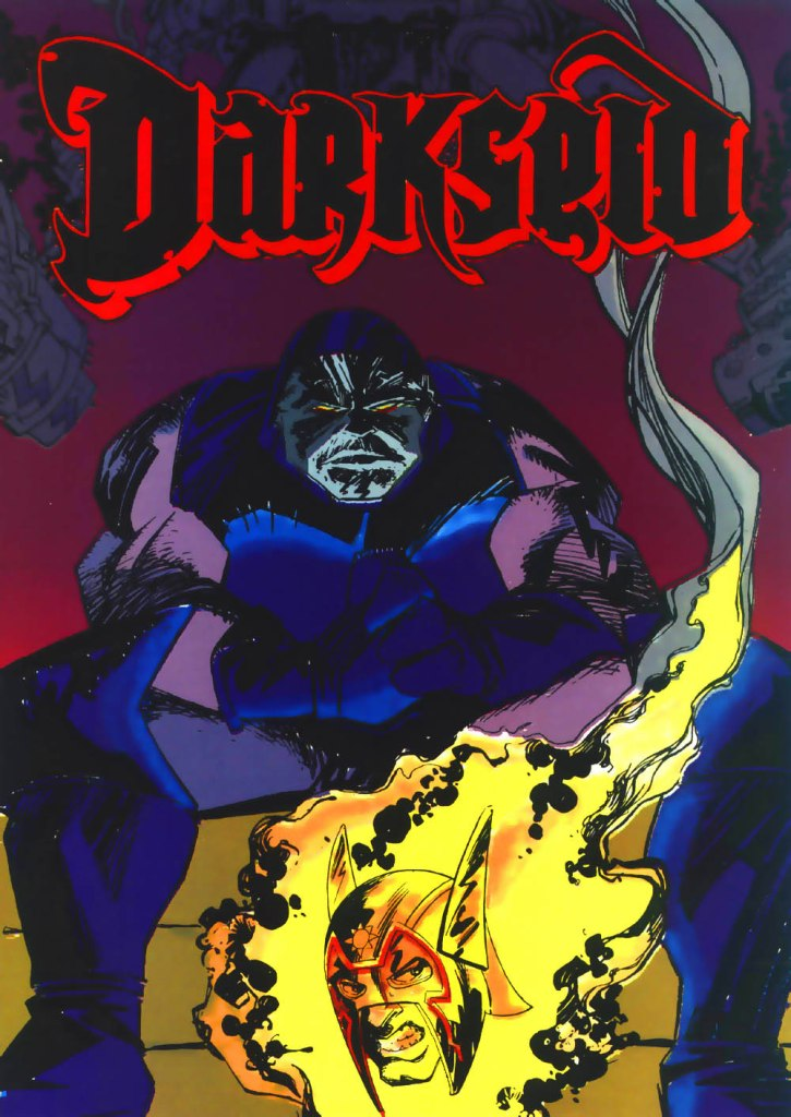 Who's Who in the DC Universe #1 - Darkseid - art by Mark Badger