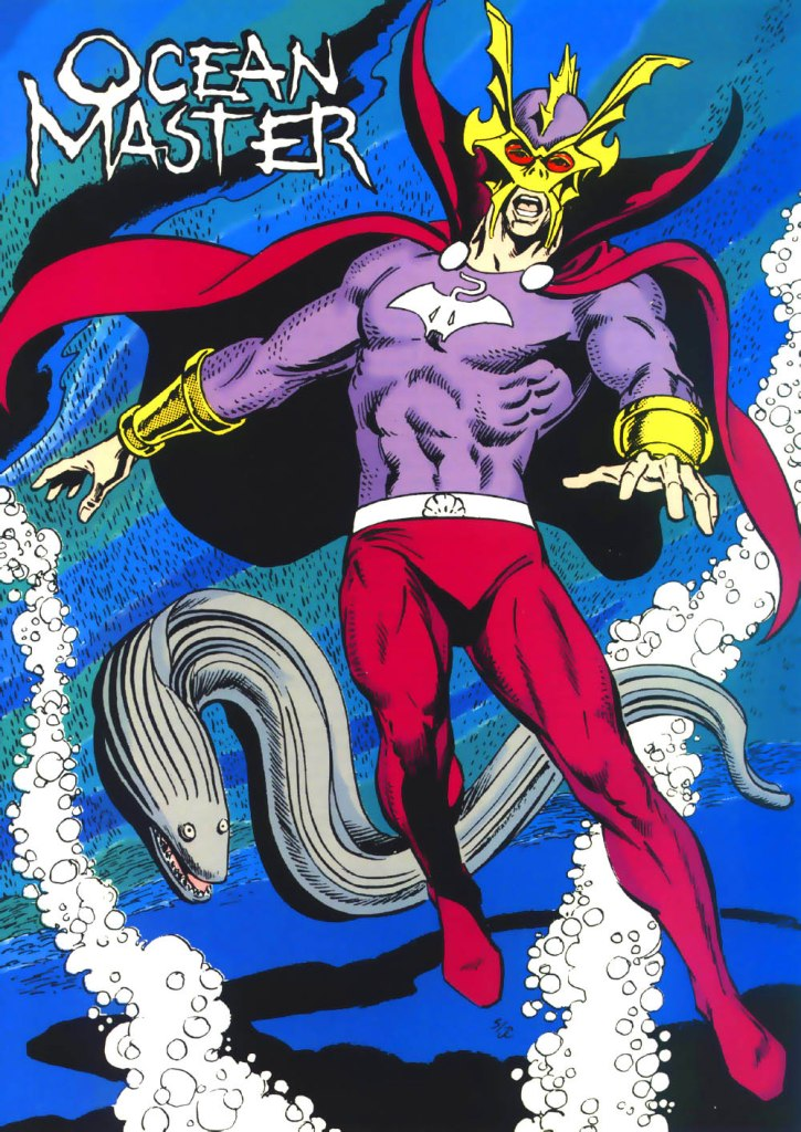 Who's Who in the DC Universe #1 - Ocean Master - text by Robert Greenberger, with art by Curt Swan and Joe Rubinstein