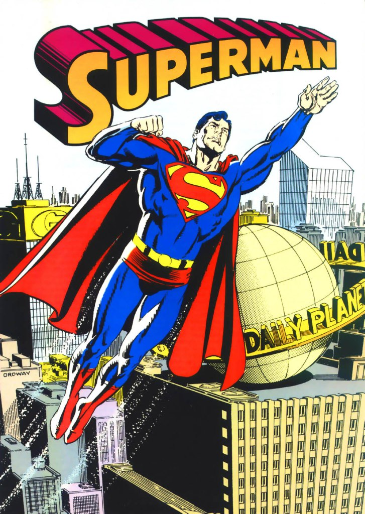 Who's Who in the DC Universe #1 - Superman - text by Peter Sanderson, with art by Jerry Ordway