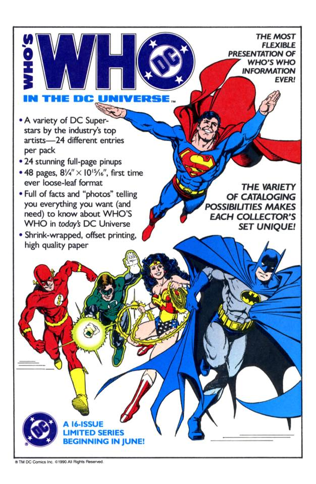 Who's Who in the DC Universe #1