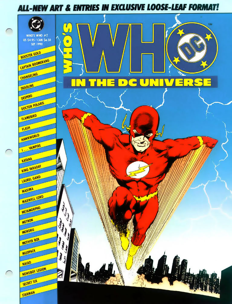 Who's Who in the DC Universe #2 - The Flash by Greg LaRocque and Jose Marzan