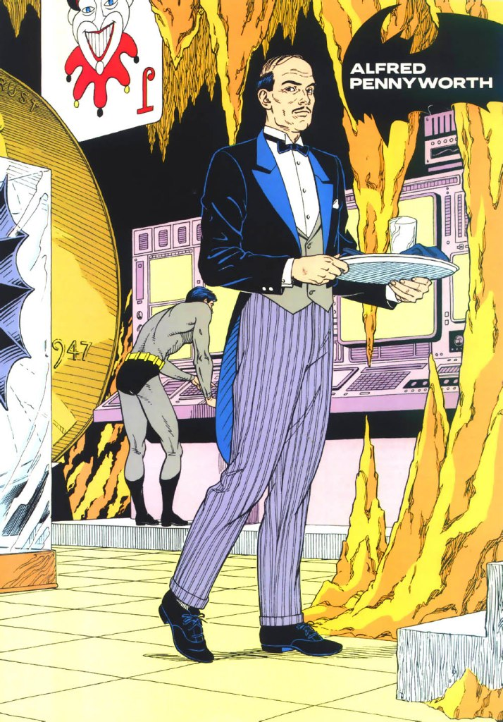 Who's Who in the DC Universe #3 - Alfred Pennyworth by Eric Shanower