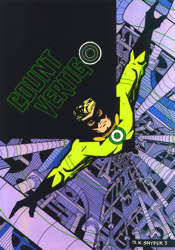 Who's Who in the DC Universe #3 - Count Vertigo by John K. Snyder III
