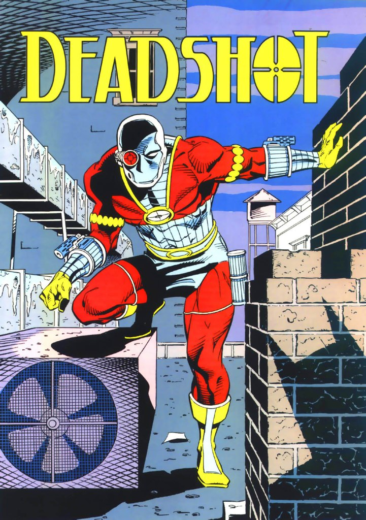 Who's Who in the DC Universe #3 - Deadshot by Luke McDonnell and Karl Kesel
