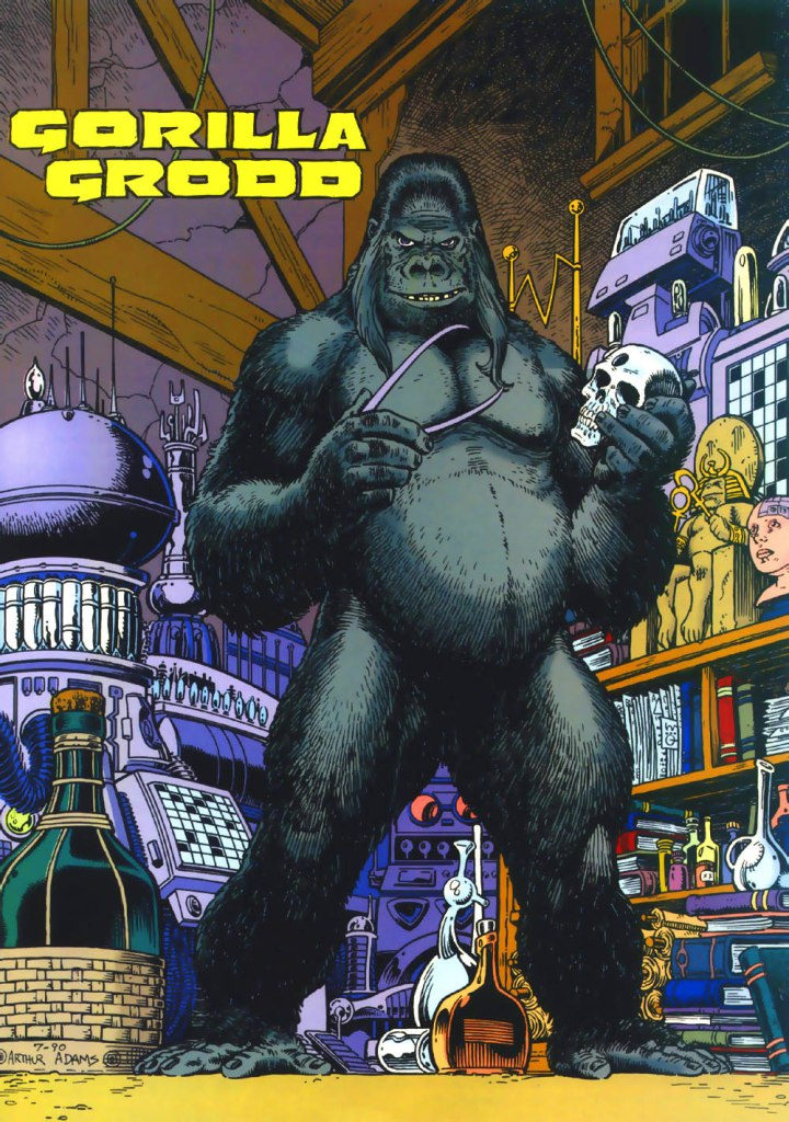 Who's Who in the DC Universe #3 - Gorilla Grodd by Arthur Adams