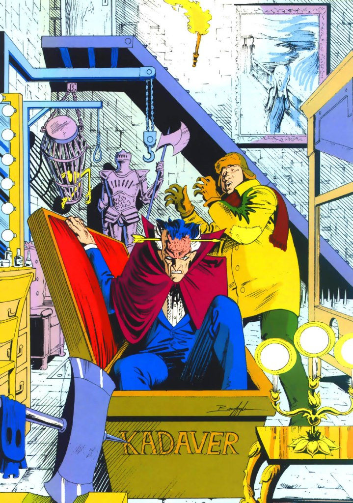 Who's Who in the DC Universe #3 - Kadaver by Norm Breyfogle