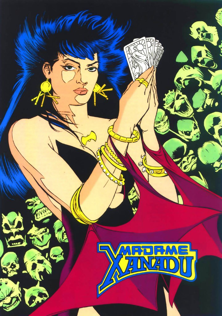 Who's Who in the DC Universe #3 - Madame Xanadu by Kevin Maguire and Joe Rubinstein