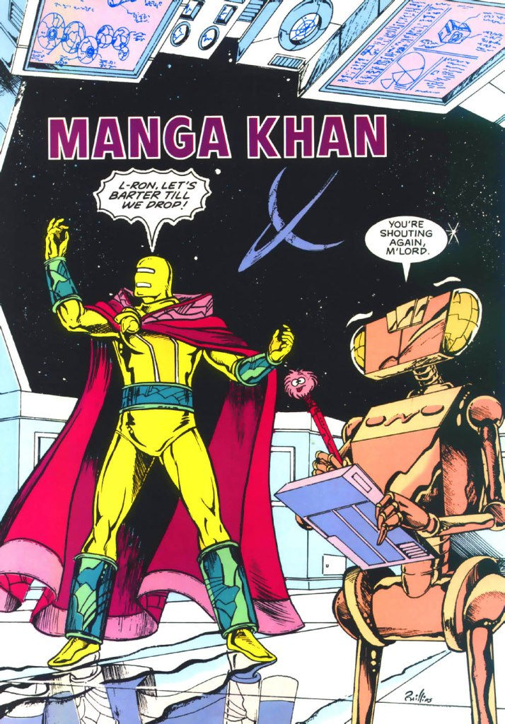 Who's Who in the DC Universe #3 - Manga Khan art by Joe Phillips