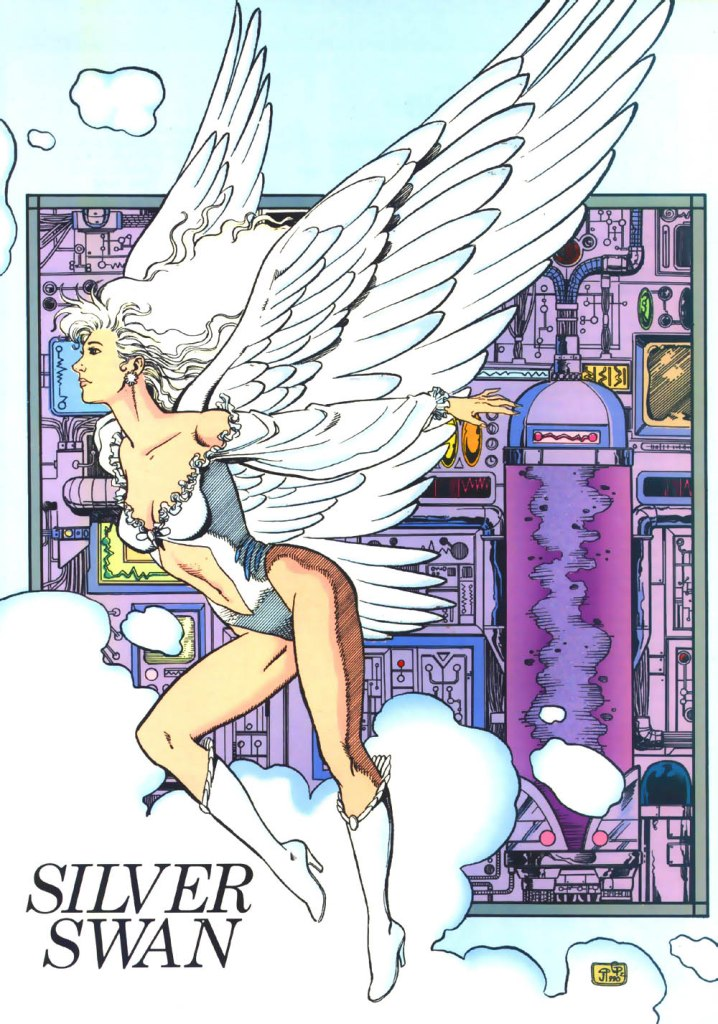 Who's Who in the DC Universe #3 - Silver Swan by Jill Thompson and George Perez