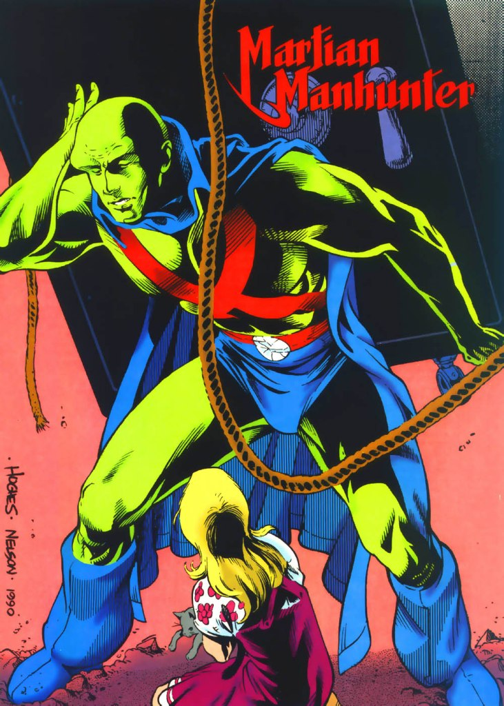 Martian Manhunter by Adam Hughes and Mark Nelson
