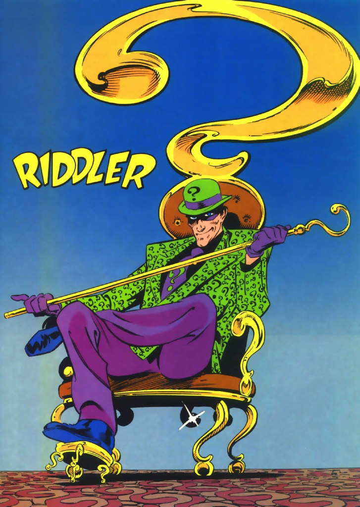Riddler by Kieron Dwyer and Dennis Janke