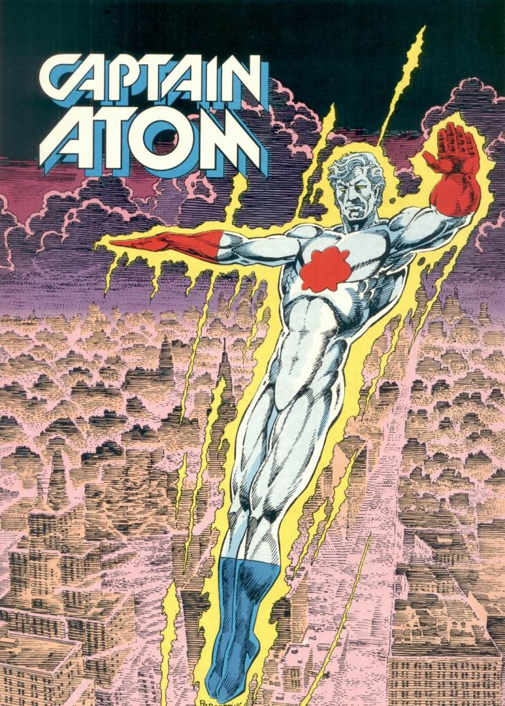 Who's Who in the DC Universe #6 - Captain Atom by Pat Broderick