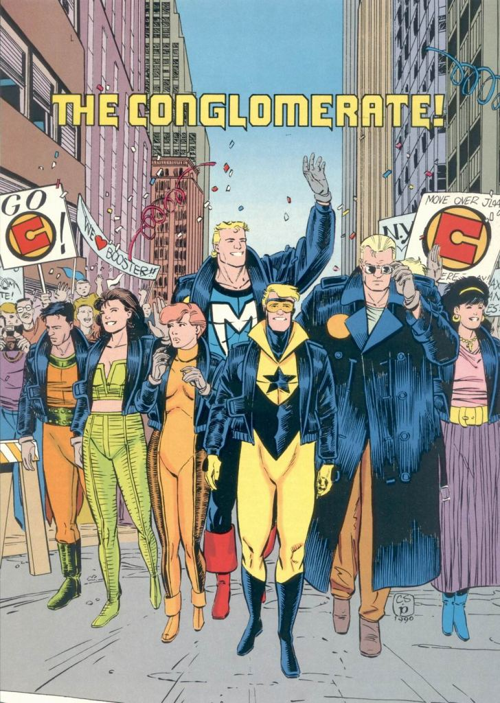 Who's Who in the DC Universe #6 - The Conglomerate by Chris Sprouse and Bruce Patterson