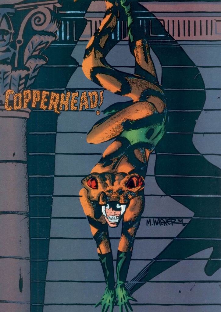 Who's Who in the DC Universe #6 - Copperhead by Matt Wagner