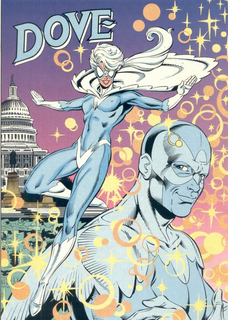 Who's Who in the DC Universe #6 - Dove by Greg Guler and Karl Kesel