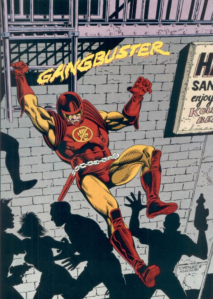 Who's Who in the DC Universe #6 - Gangbuster by Jerry Ordway and Mike Machlan