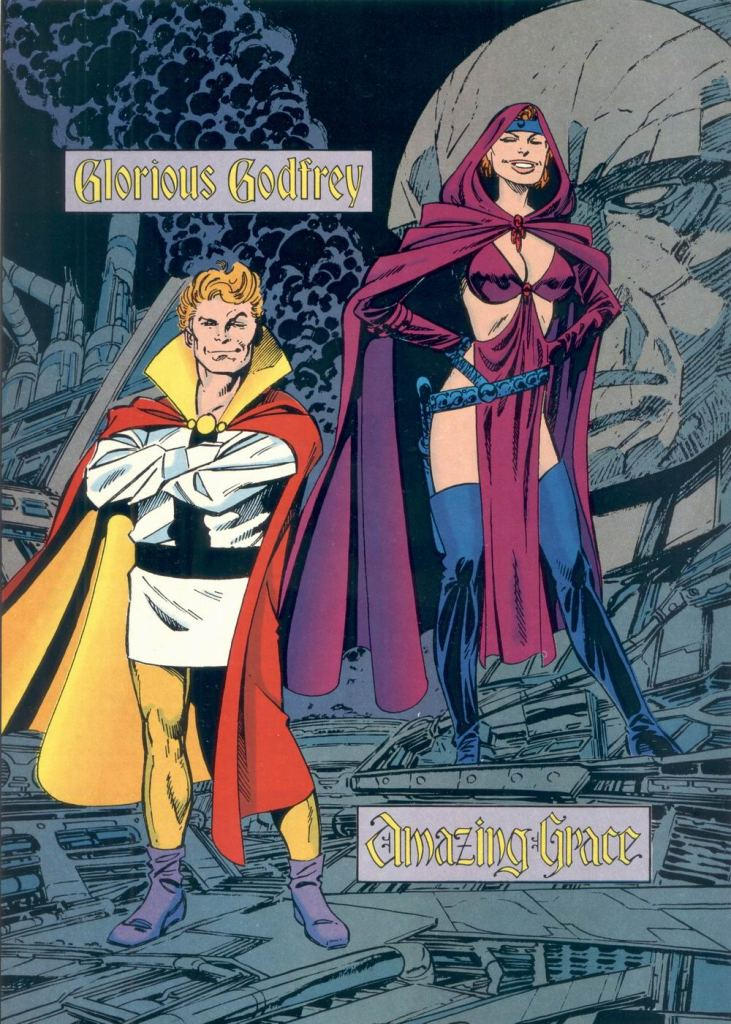 Who's Who in the DC Universe #6 - Glorious Godfrey and Amazing Grace by John Byrne