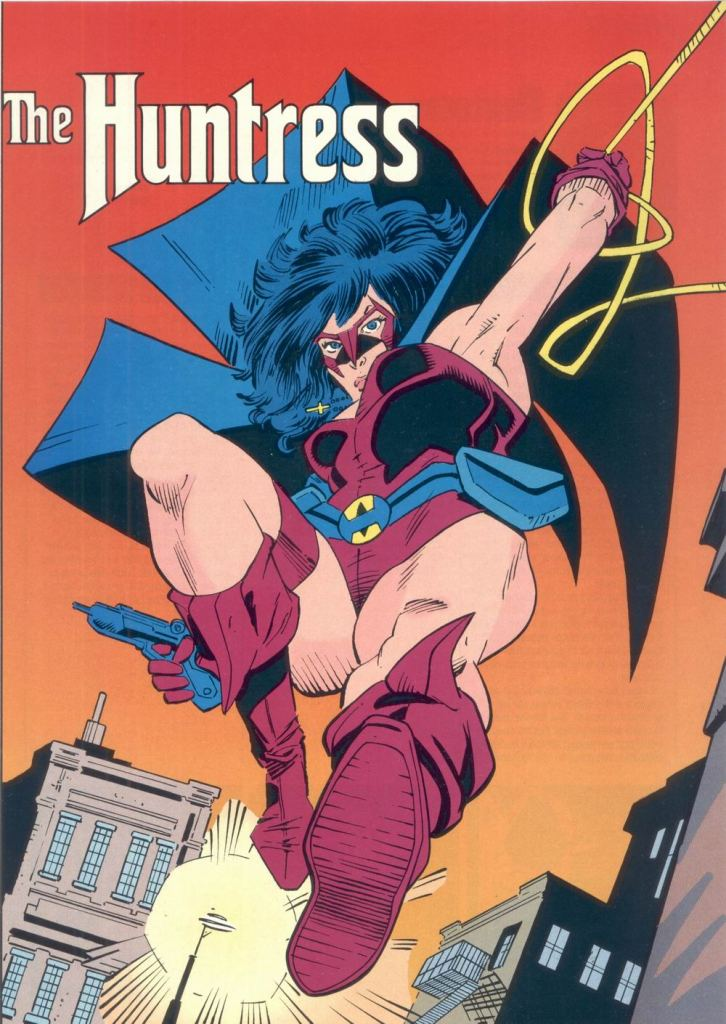 Who's Who in the DC Universe #6 - The Huntress by Joe Staton and Bob Smith