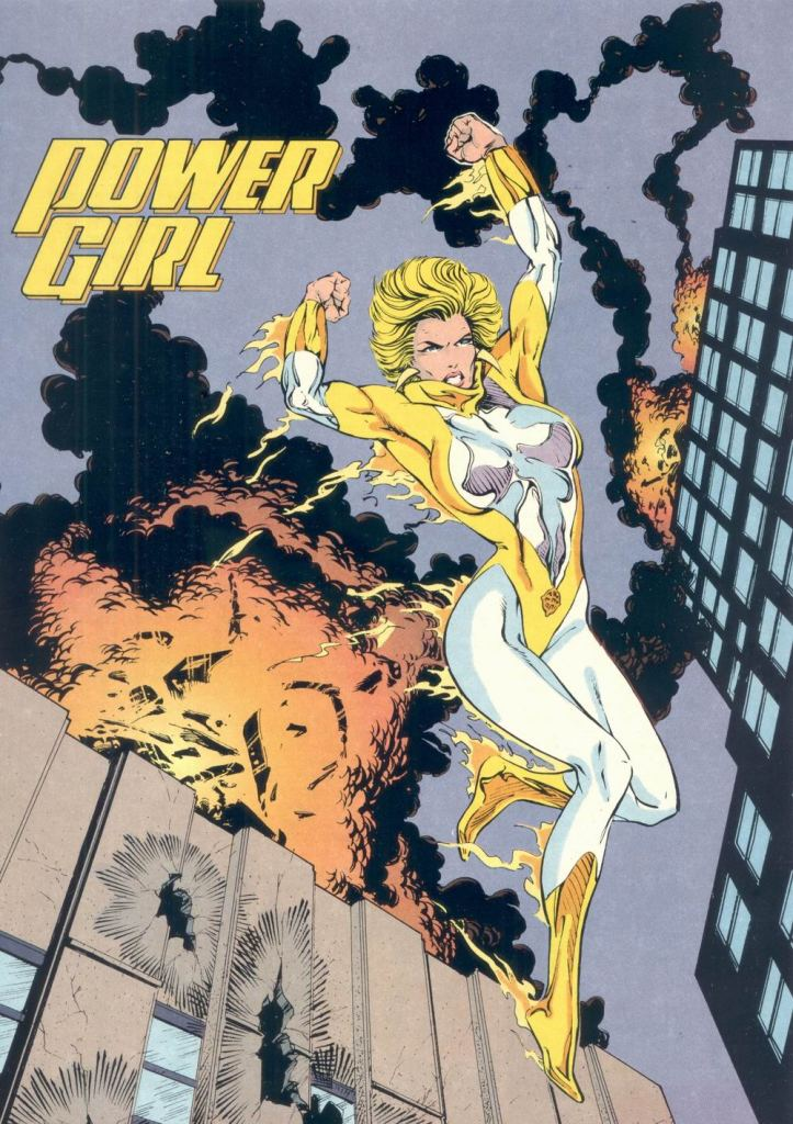 Who's Who in the DC Universe #6 - Power Girl by Bart Sears