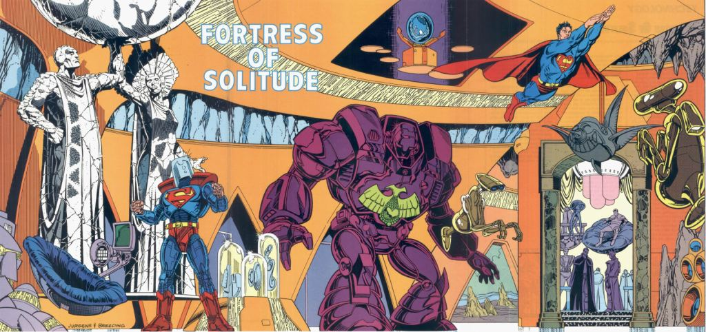 Who's Who in the DC Universe #6 - Fortress of Solitude by Dan Jurgens and Brett Breeding