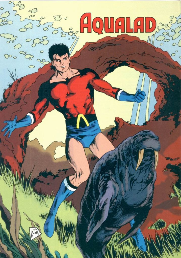 Aqualad by Steve Lightle