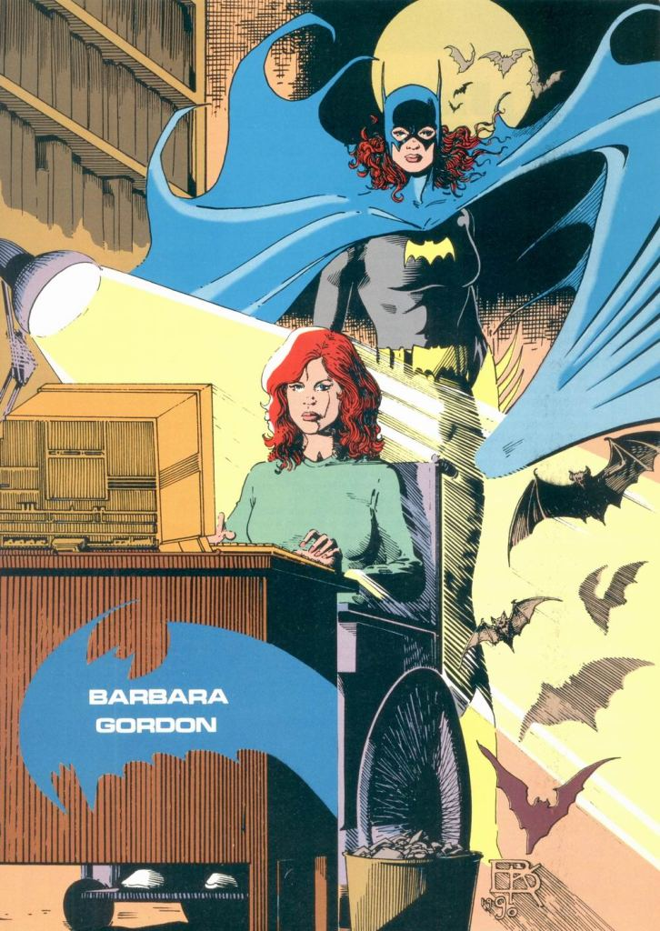 Barbara Gordon by Kevin Maguire and Karl Kesel